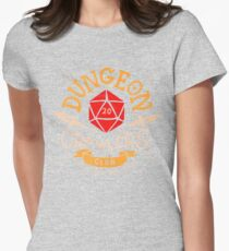 Dungeon Crawlers Club Women's Fitted T-Shirt