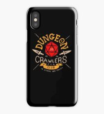 Dungeon Crawlers Club iPhone Case