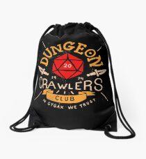 Dungeon Crawlers Club Drawstring Bag