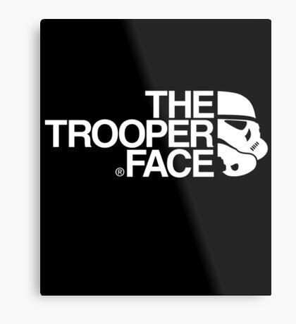 The trooper face Metal Print