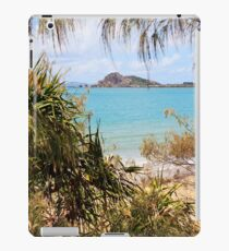 Tranquil bay through the trees iPad Case/Skin