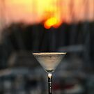 Sunset Martini by Barbara Gerstner