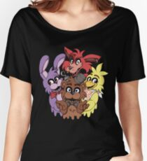 Five Nights at Freddys! Women's Relaxed Fit T-Shirt