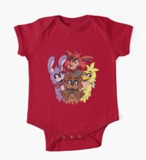 Five Nights at Freddys! One Piece - Short Sleeve