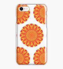 Firery Flowers iPhone Case/Skin