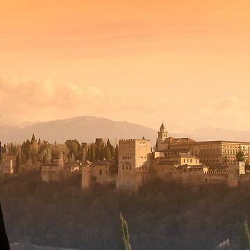 alhambra sunset by shaun965