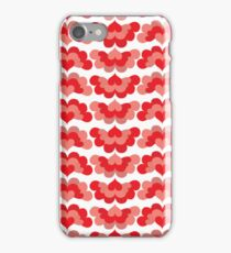 Heart Fan Pattern iPhone Case/Skin