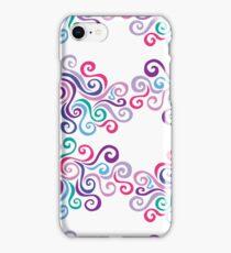 Swirlycule Pattern iPhone Case/Skin