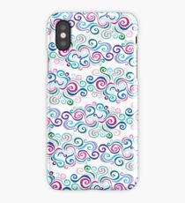 Primeval Swirls Pattern iPhone Case/Skin