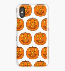 Jack O' Lantern Pattern iPhone Case/Skin
