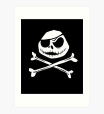 Jolly Jack Roger Art Print