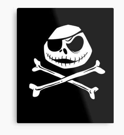 Jolly Jack Roger Metal Print