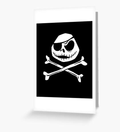 Jolly Jack Roger Greeting Card