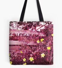 purple blossom Tote Bag