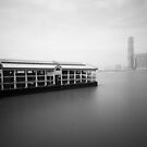 bw Hong Kong harbour view by hkavmode