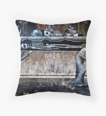 The Pallbearers Throw Pillow