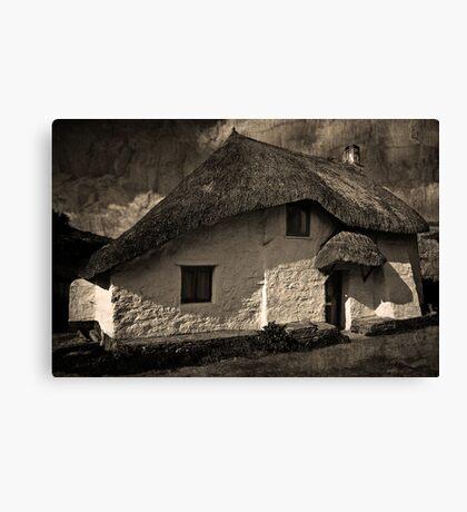 Cove Cottage Canvas Print