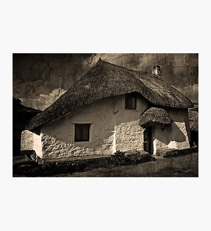 Cove Cottage Photographic Print