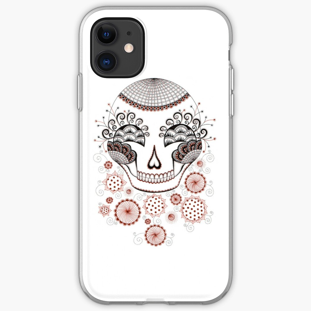 Carnival Skull iPhone Case & Cover