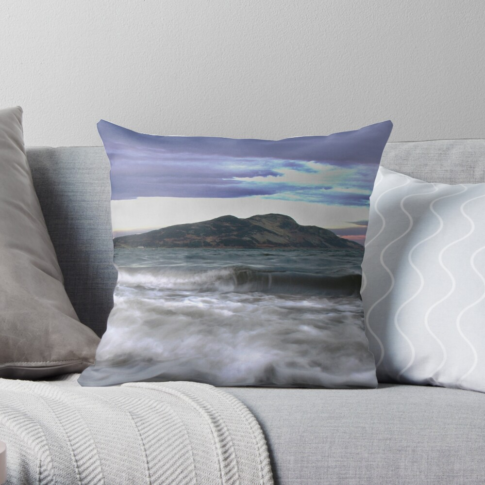 Twilight Holy Isle Throw Pillow