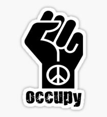 Occupy Sticker