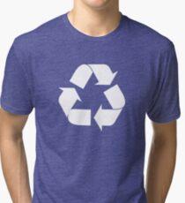 Recycling T Shirt 02 Tri-blend T-Shirt