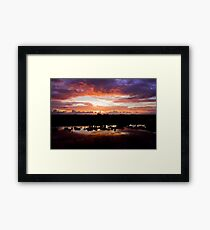 H.W.'s Over the Lake Framed Print