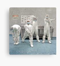 Workers Canvas Print