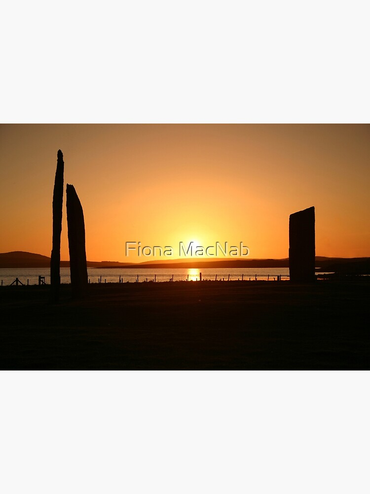 Stenness Sunset by orcadia
