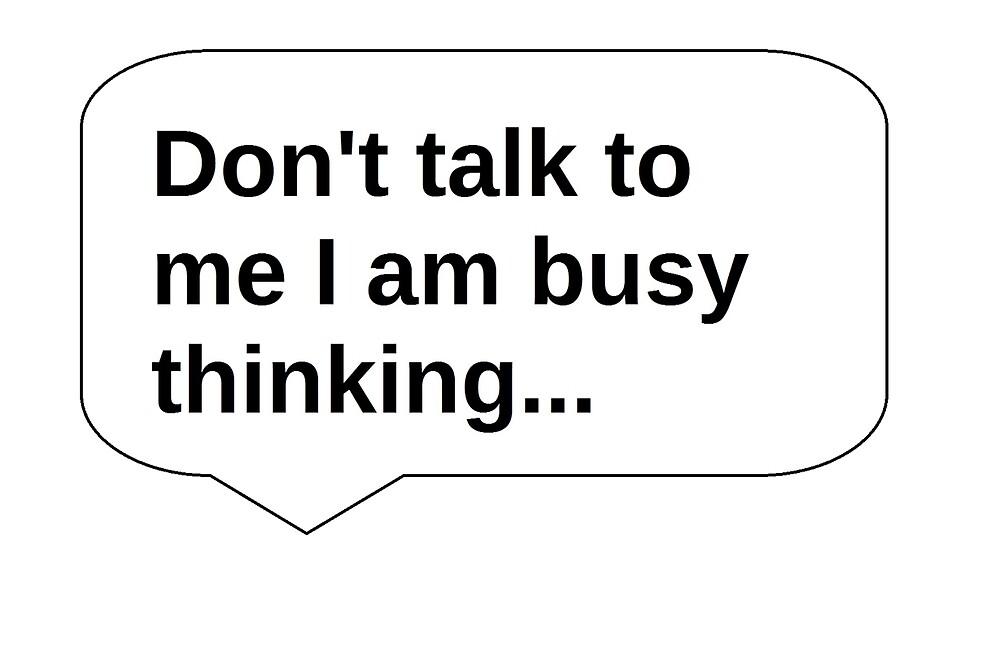 I am thinking... by Wordie
