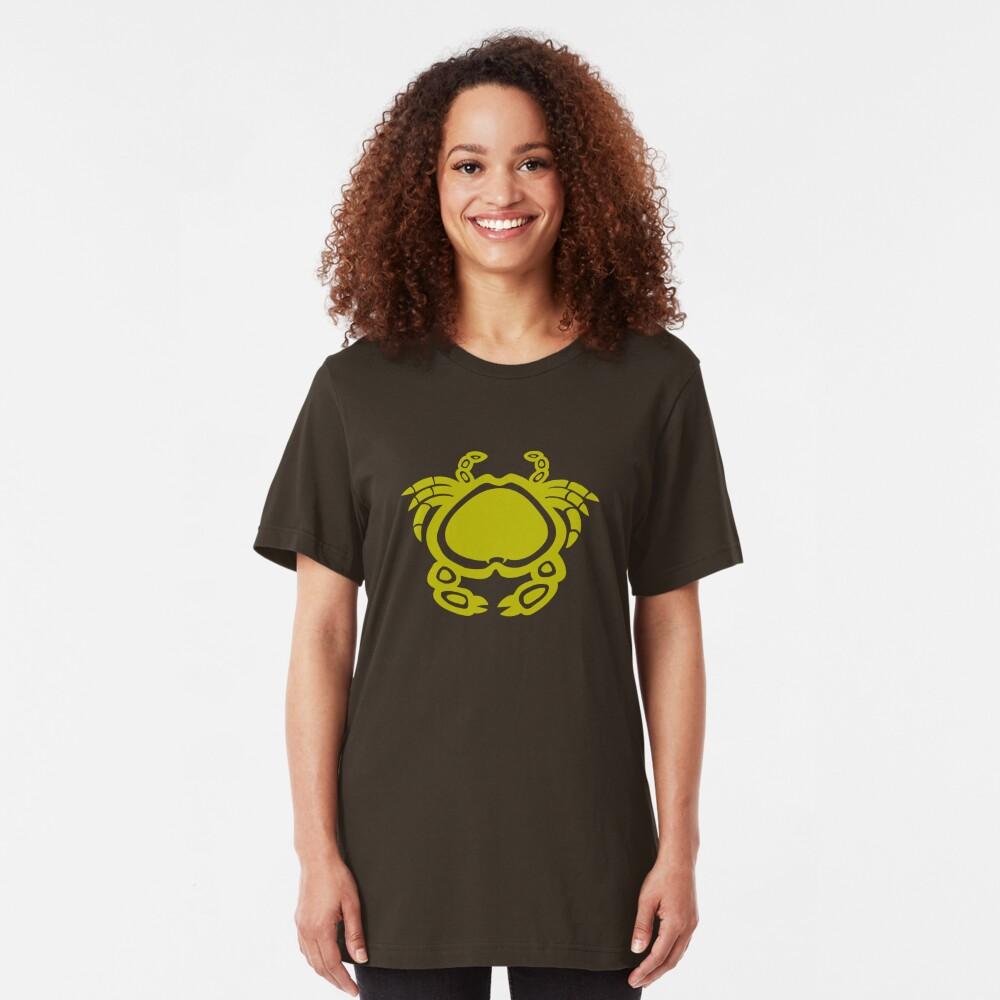 Indiginous Aboriginal Crab Slim Fit T-Shirt
