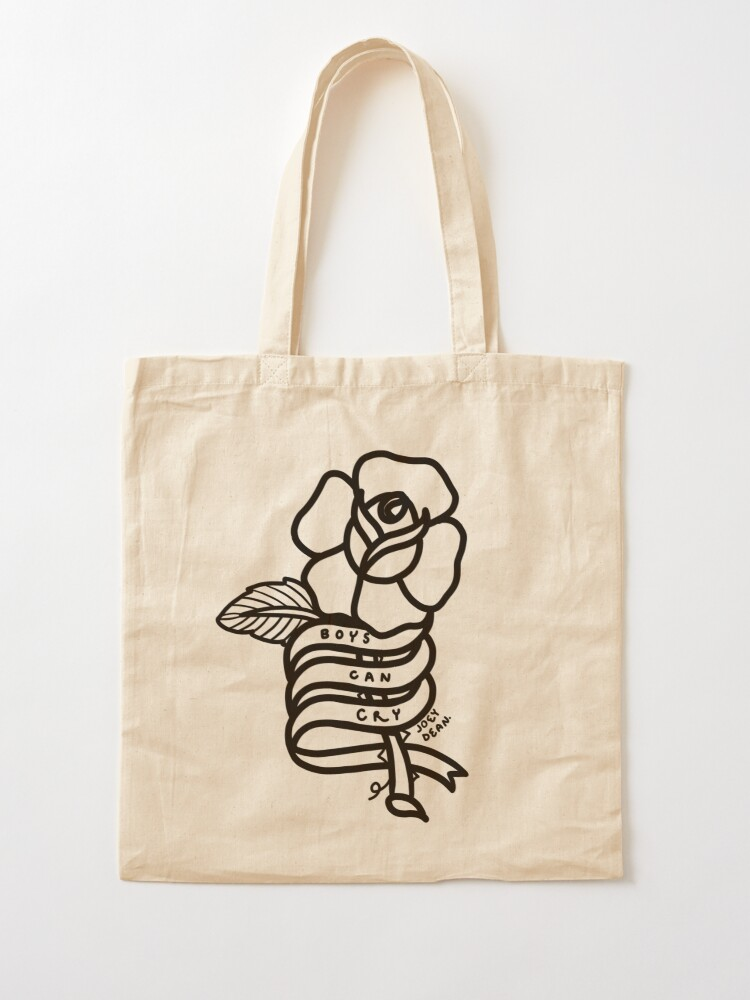 Alternate view of Boys Can Cry Tote Bag