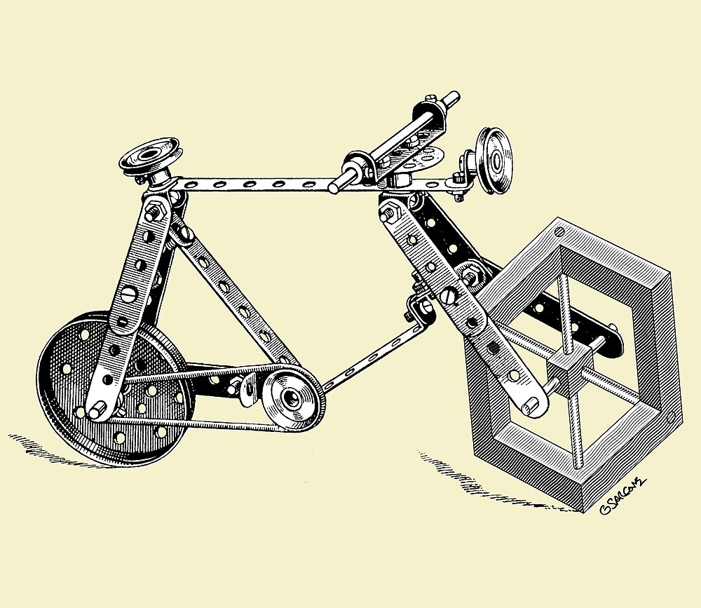 Impossible Bike by Gianni A. Sarcone