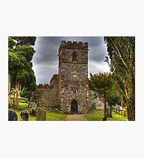 The Tower Of St Andrew's Church, Dacre Photographic Print