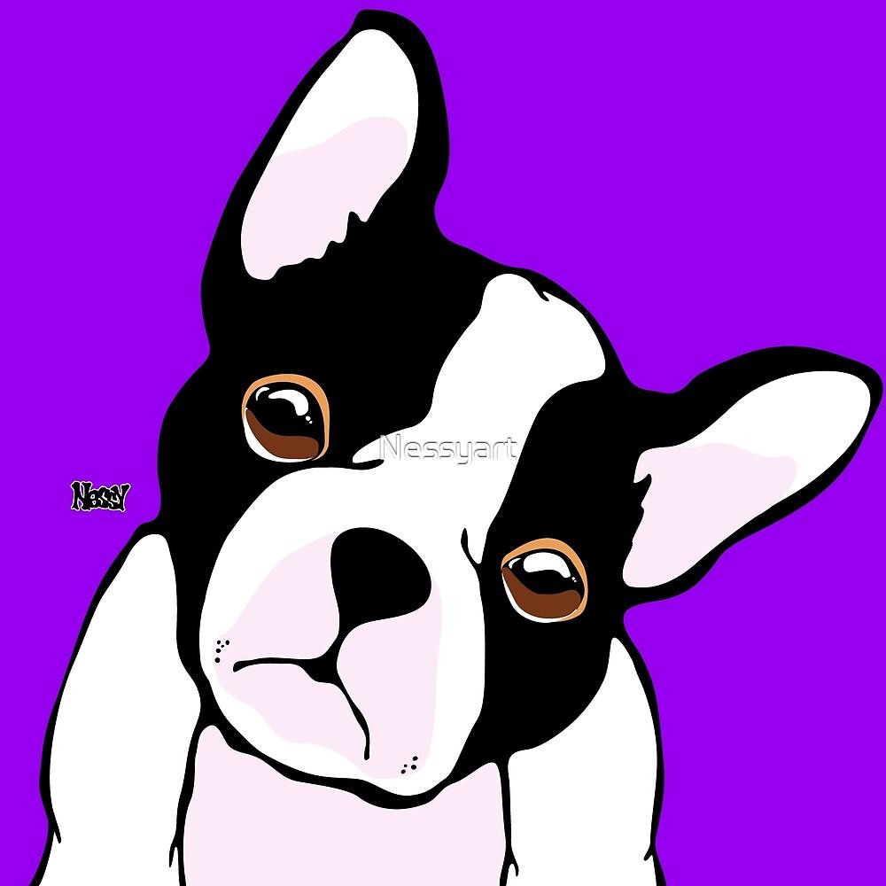 French Bulldog by Nessyart