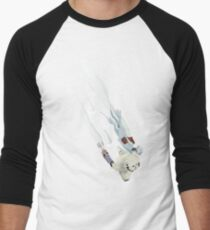 The Missing Wampa Scene Men's Baseball ¾ T-Shirt
