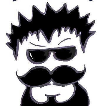 Manliness beard. by Maxyjaz