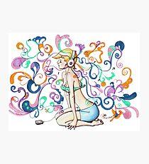 Doodle Music Photographic Print