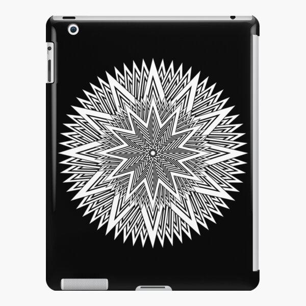 Monochrome Mandala iPad Snap Case