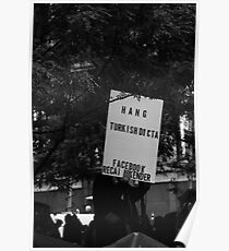 PROTESTERS  Poster