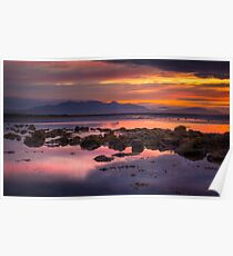 Arran Sunset Poster