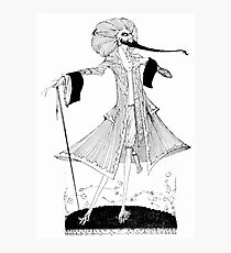 Page 35 illustration from Fairy tales of Charles Perrault Harry Clarke 1922 Photographic Print