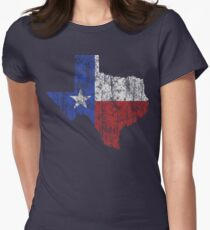 Texas Vintage Women's Fitted T-Shirt