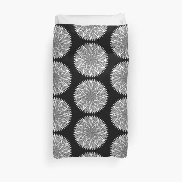 Monochrome Mandala Duvet Cover