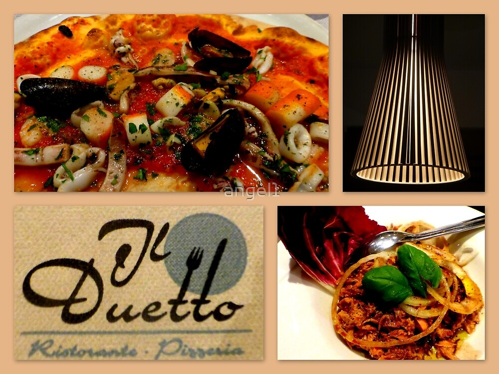 Il Duetto Collage by ©The Creative  Minds