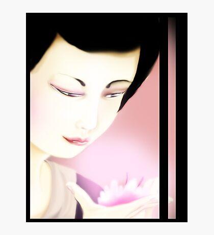 Sakura Geisha Photographic Print