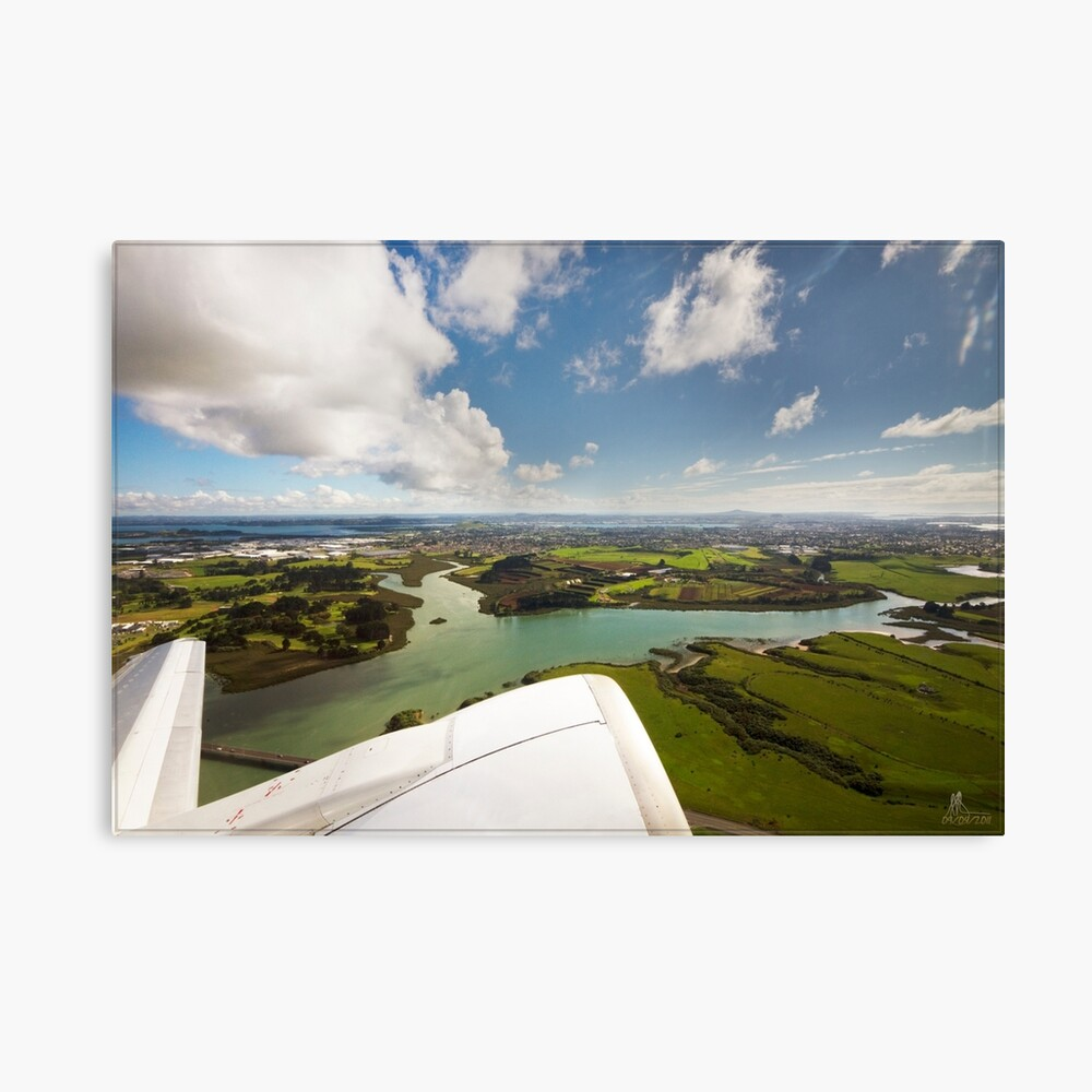 Leaving Auckland, NZ Canvas Print