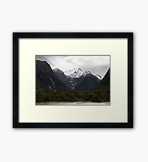 In Milford Sound Framed Print