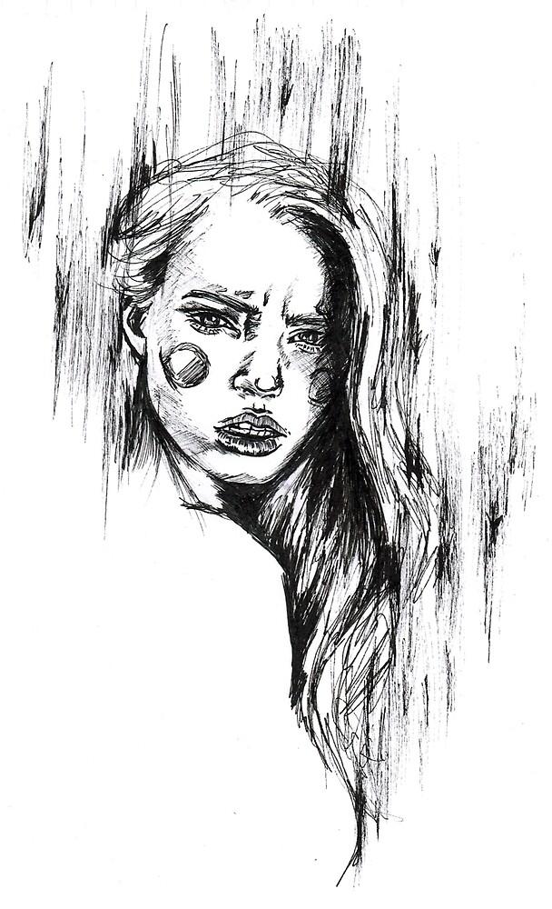 Behold Illustrative Sketch  by rachelmurphyart