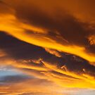 Golden clouds by Garry Gay